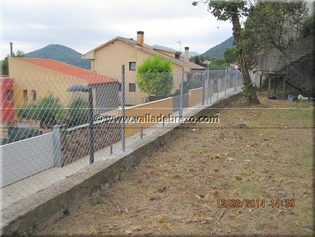 Clientes montaje de una valla de simple torsi n de un muro - Como colocar ladrillos en una pared ...