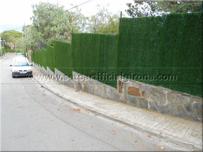 Clientes bruc natural girona vallas de brezo para jardin - Vallas para parcelas ...